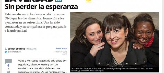 """""""Sin perder la esperanza"""" testimonios de optimismo en La Verdad"""