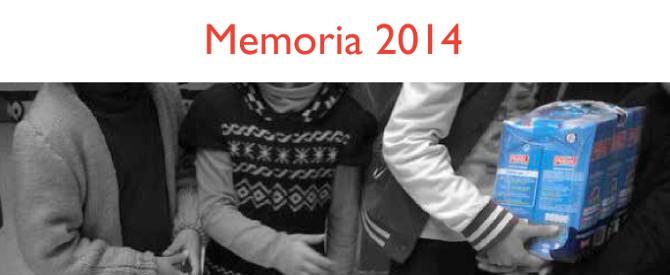 Memoria de actividades 2014