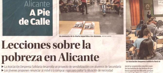 Lecciones sobre la pobreza en Alicante