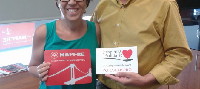 Mapfre Alicante colabora con Despensa Solidaria