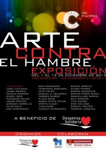 Exposición - Arte contra el hambre 2015