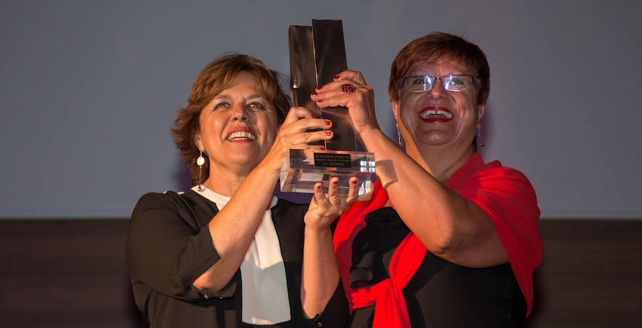Recibimos el premio 'Los Mejores' de La Verdad al compromiso social