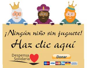 Clic para colaborar con la compaña Ningún niño sin juguete de Despensa Solidaria de Alicante