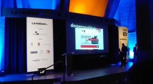 Escenario VIII Premios Web La Verdad