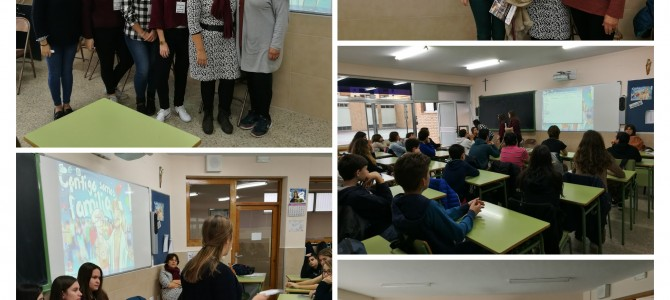 Encuentro con Entidades Sociales en el Colegio Salesianos Don Bosco
