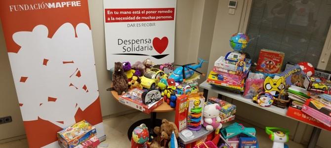 """Fundación Mapfre colabora con nuestro Proyecto """"Ningún niño sin juguete"""""""