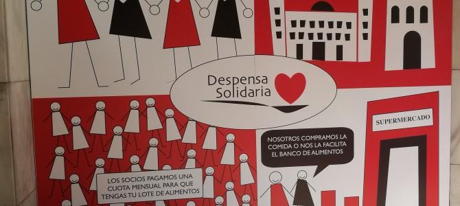 Entrevista a Despensa Solidaria de Alicante publicada en AQUI Alicante