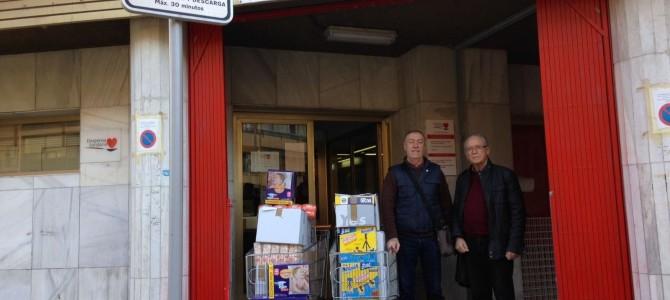 La Universidad Permanente de Alicante continúa colaborando con Despensa Solidaria