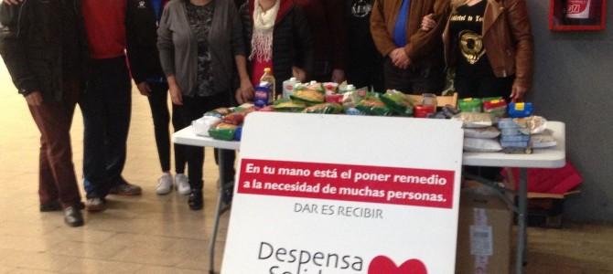 El Hércules CF y la Asociación de Prensa Deportiva de Alicante con Despensa Solidaria
