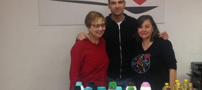 Alumnos del IES DOCTOR BALMIS visitan Despensa Solidaria