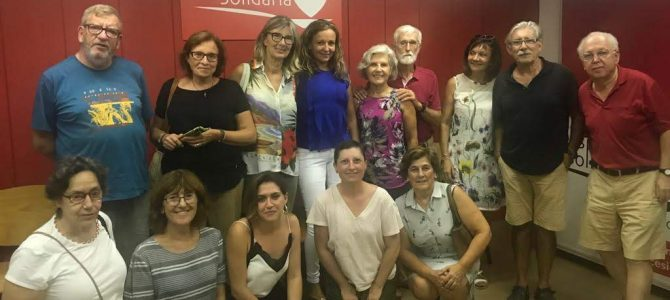 Se reanudan las actividades docentes en Despensa Solidaria Alicante