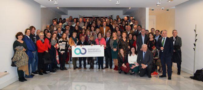 Presentación del Proyecto Empresas Solidarias 2018 y entrega de lotes