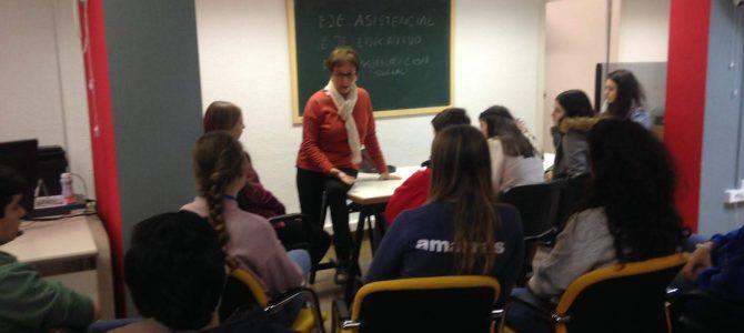 Encuentro con Entidades Sociales en el Colegio Salesianos