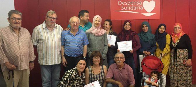Clausura del curso de español para adultos
