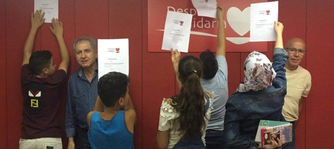 Clausura del curso de español para niños