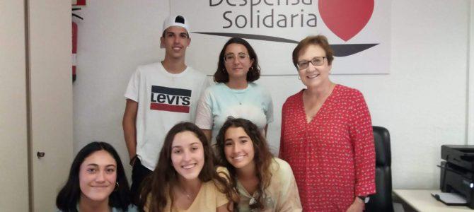 Colaboración alumnas IES Playa San Juan de Alicante