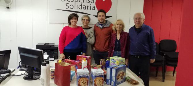 Donación de alimentos del Instituto de Neurociencias de Alicante