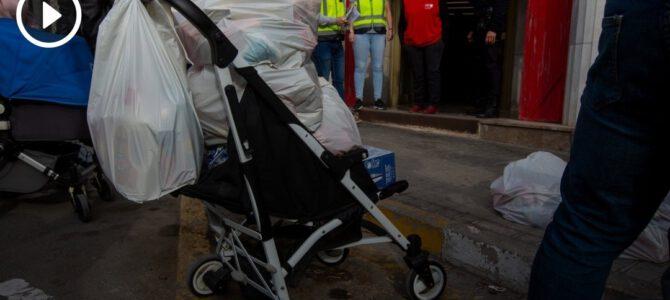 DEMANDA IMPARABLE – La tercera ola de la pandemia multiplica por cinco el número de personas que necesitan ayuda para comer
